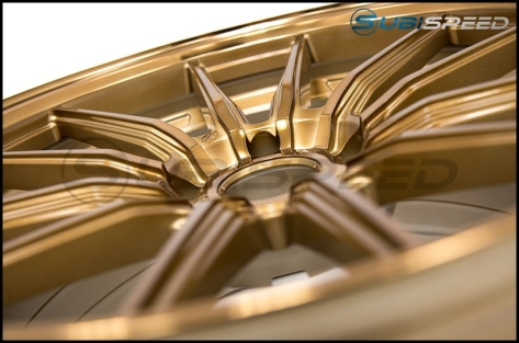 Cosmis Racing R1 18x9.5 +35mm Hyper Bronze - 2015+ WRX / 2015+ STI