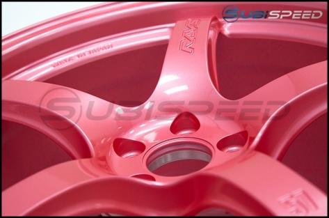 Rays Gram Lights 57CR Sakura Pink 18X9.5 +38 - 2013+ FR-S / BRZ / 86 / 2014+ Forester