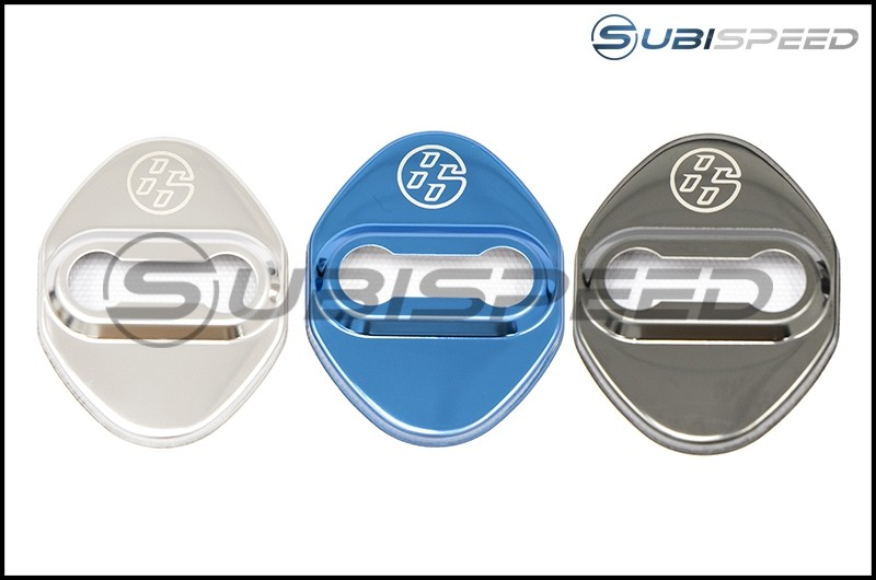 GCS Mirrored Door Striker Covers