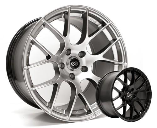 Enkei RAIJIN Wheels 18x8 +48mm (Gunmetal) - 2013+ BRZ / 2014+ Forester