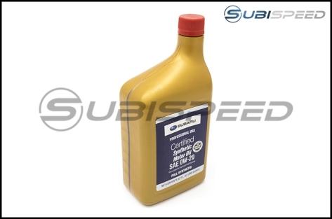 Subaru 0W20 Synthetic Motor Oil (1 Quart) - Universal