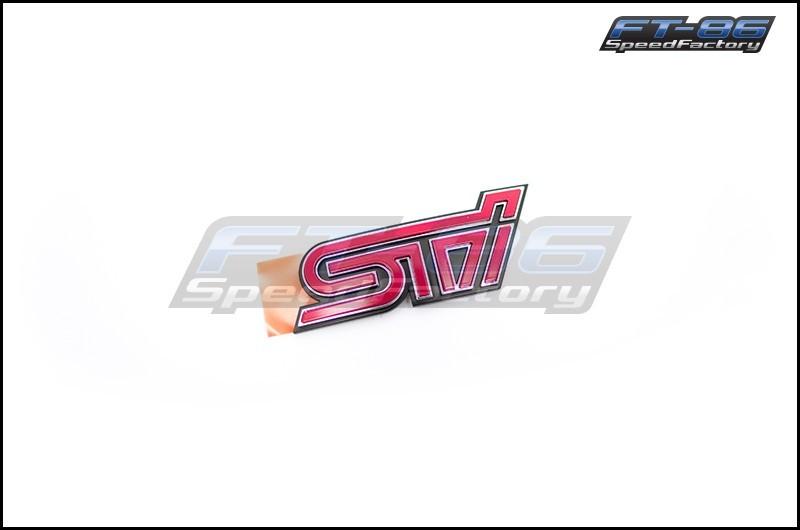 STI BRZ Rear Trunk Emblem