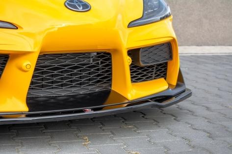 Maxton Design V2 Gloss Black Front Lip - 2020+ A90 Supra