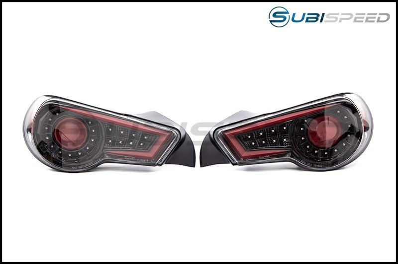 SpecD Sequential Jet Black LED tail light