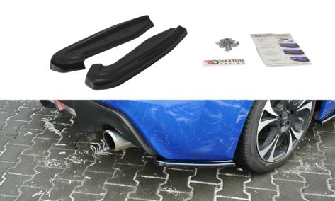 Maxton Design V1 Gloss Black Rear Side Splitters