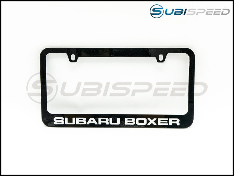 Subaru Boxer License Plate Frame