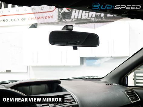Frameless Rear View Mirror (Auto Dimming, Optional Compass) - 2015+ WRX / 2015+ STI / 2013+ FR-S / BRZ / 86 / 2014+ Forester