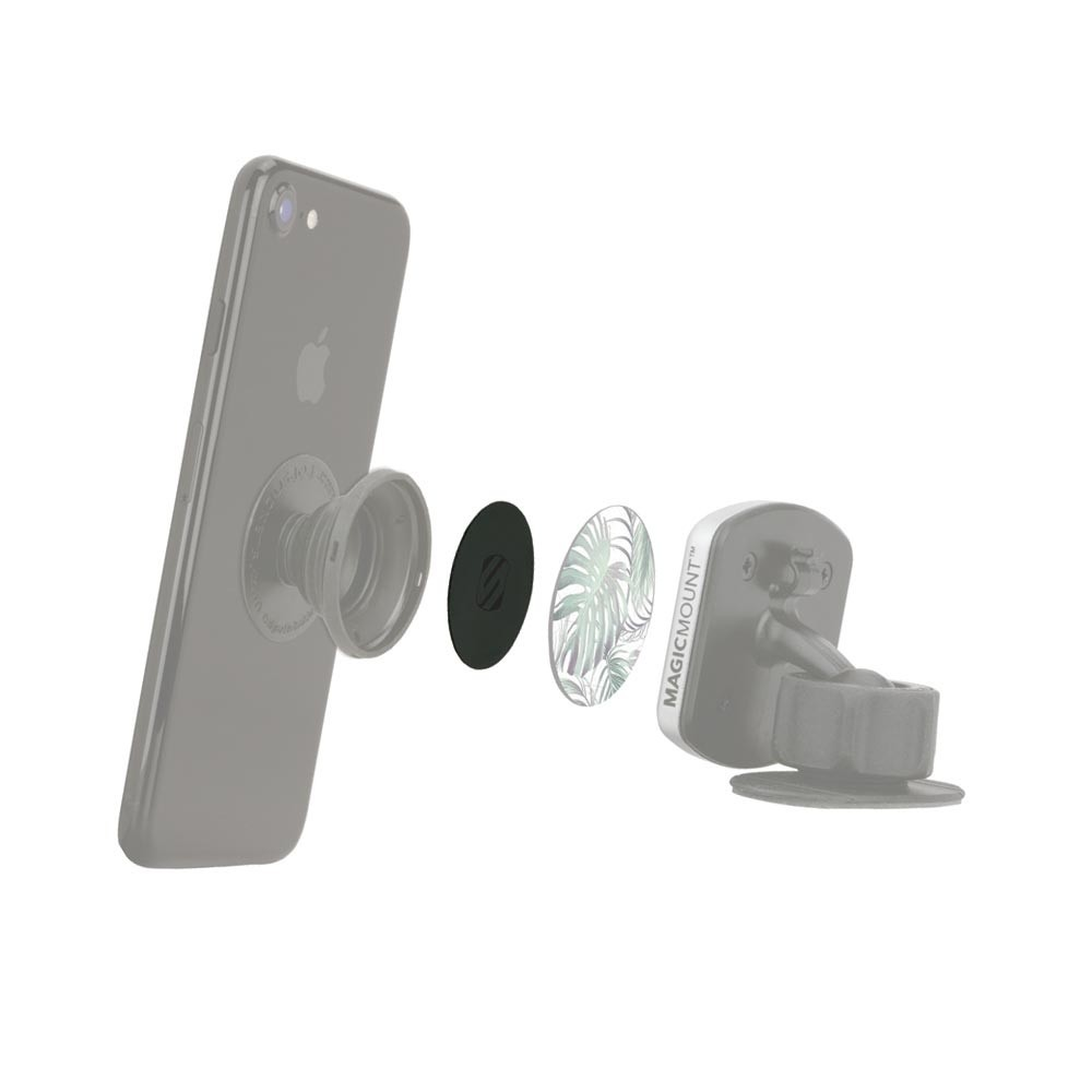 Scosche PopSocket Compatible Plate for MagicMounts