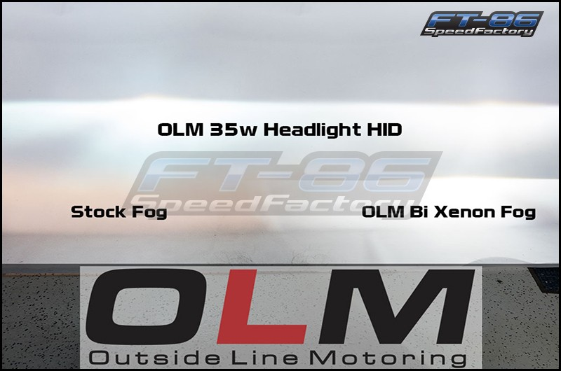 OLM Headlight Low Beam 35w HID Kit (various colors)
