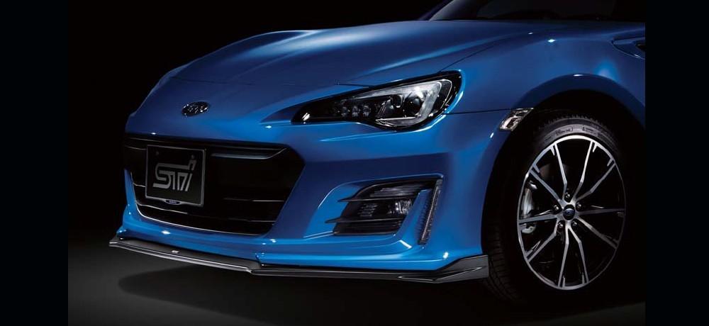 Subaru OEM STI Front Under Spoiler Kit