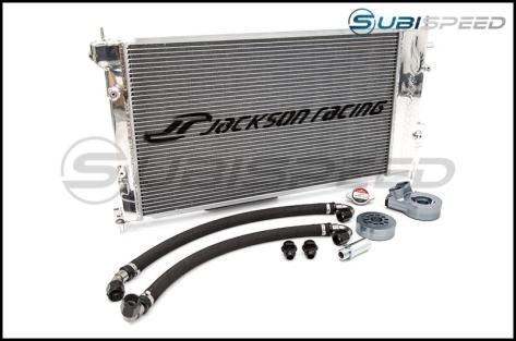 Jackson Racing Dual Radiator / Oil Cooler V2 - 2013+ FR-S / BRZ / 86