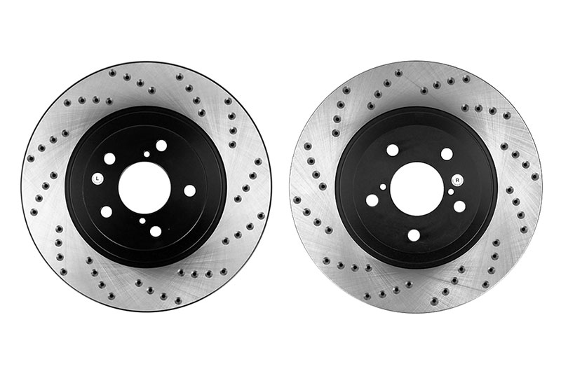 Stoptech Drilled Rotor Pair Front