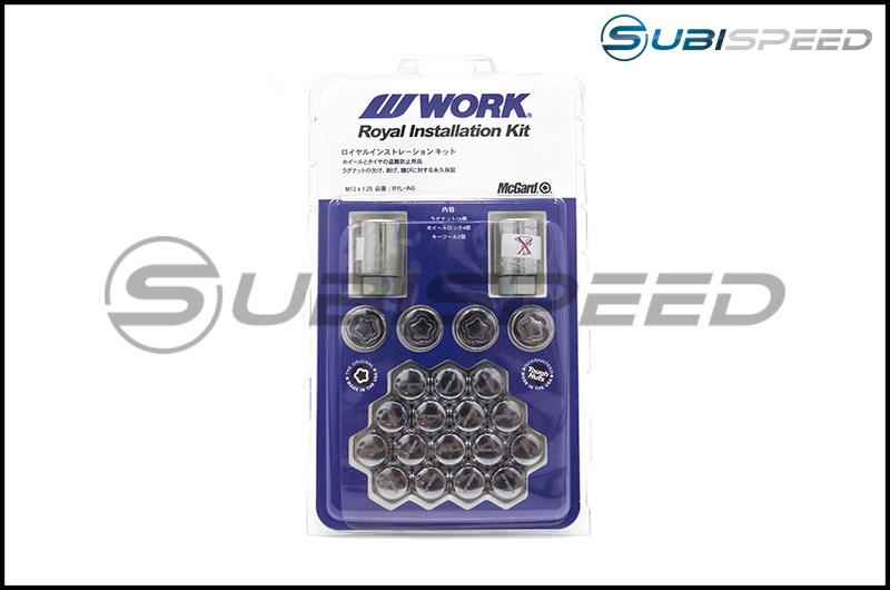 WORK Royal Installation Kit Lug Nuts