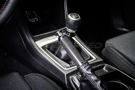 Carbon Fiber E-Brake Replacement Handle (Black) - 2015+ WRX / 2015+ STI / 2013+ FR-S / BRZ / 86 / 14-18 Forester / 13-17 Crosstrek
