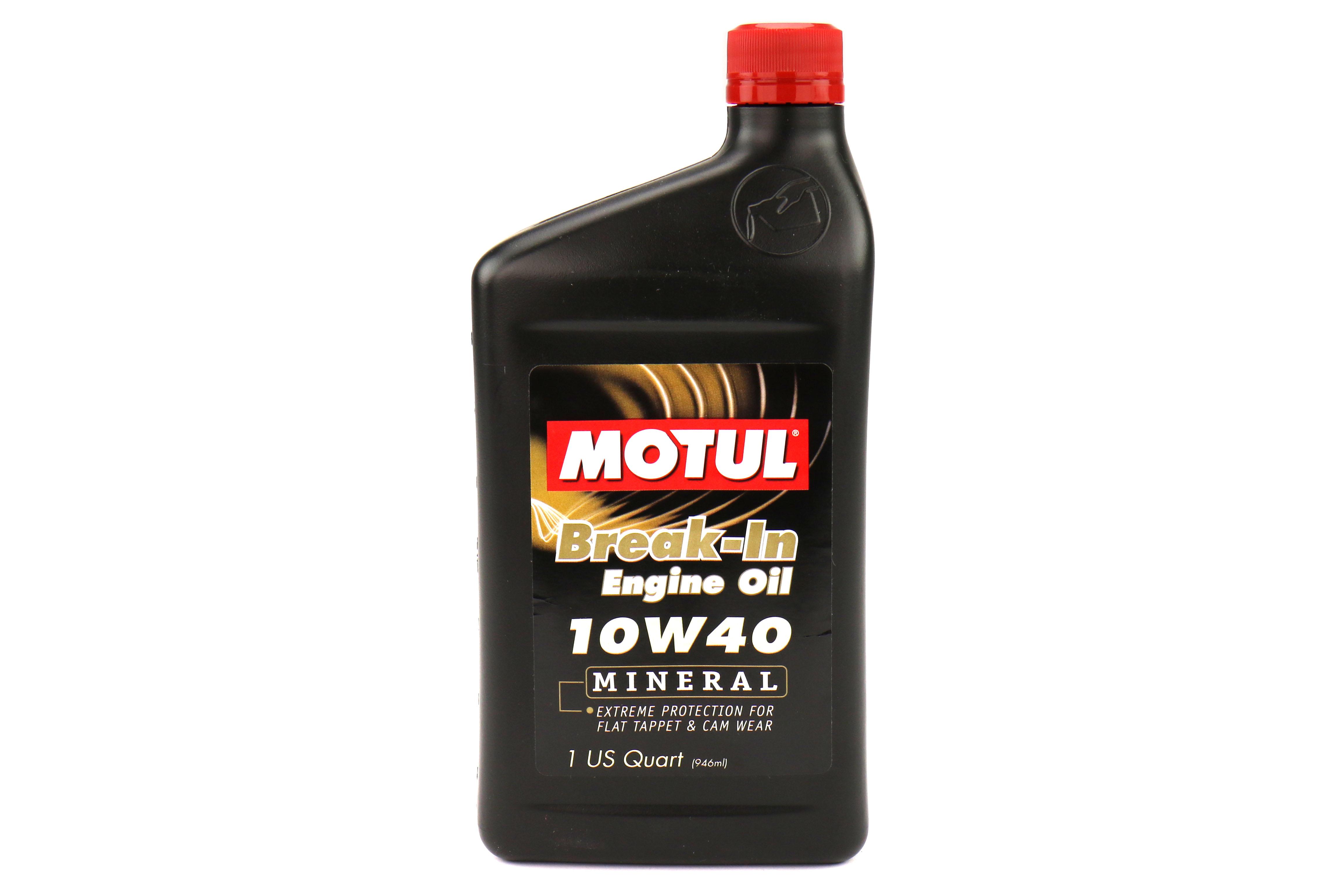 Motul Break-In Engine Oil 10W40 (MINERAL)