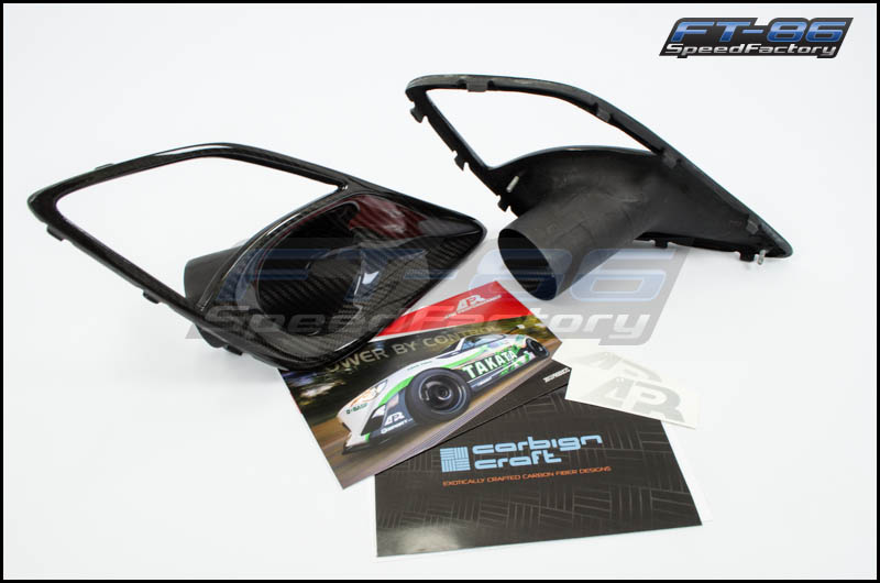 APR Carbon Fiber Brake Ducts