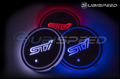 GCS STI Style LED Light Up Coasters - Universal