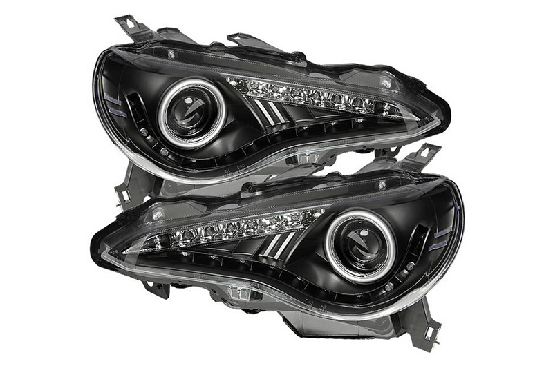 Spyder Xenon Model Projector Headlights