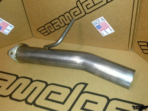 Nameless Single Exit 2.5 Track Pipe - 2013