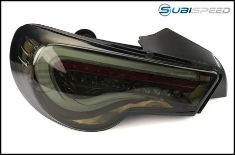 Valenti Jewel LED Tail Light (Light Smoke Lens, Black Chrome Inner Reflector) - 2013+ BRZ