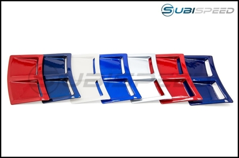 OLM S207 Style Paint Matched Rear Bumper Vent Inserts