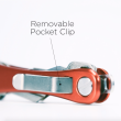 KeySmart Rugged Compact Key Organizer Belt Clip - Universal