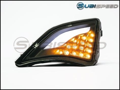 GCS FR-S Turn Signal / DRL Corner Lights V2 Smoked - 2013+ FR-S / BRZ / 86