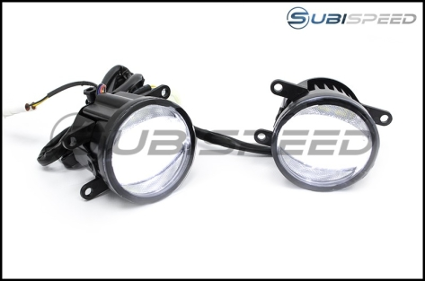 OLM Vision+ DRL Gen 2 Fog Light Housings - 2015+ WRX / 2015+ STI / 2013-2016 FR-S / BRZ / 86 / 2013+ Crosstrek / 2014+ Forester
