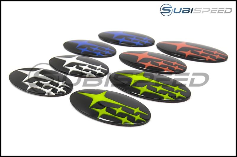 Sedan GCS Front & Rear Gloss Black Emblem Kit