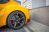 Maxton Design V2 (Gloss Black / Red) Rear Spats - 2020+ A90 Supra