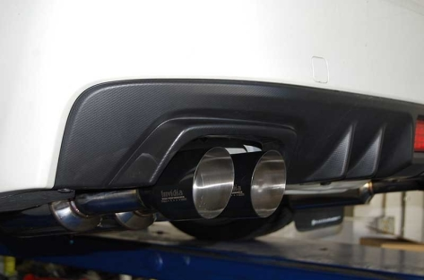 Invidia Gemini (R400) Quad Tip Exhaust