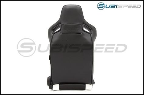 Braum Elite Series Racing Seats (Black & White) - Universal