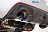 FT-86 SpeedFactory Dual Muffler Delete Axle Back Exhaust with Burnt Tips - 2013-2016 Scion FR-S / Subaru BRZ / Toyota 86