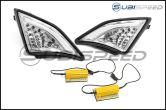 GCS FR-S Turn Signal / DRL Corner Lights V1 Chrome - 2013-2016 FR-S