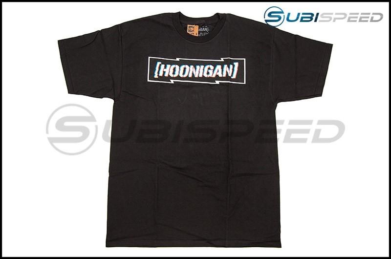 HOONIGAN DSC Censor Bar Short Sleeve Black Tee