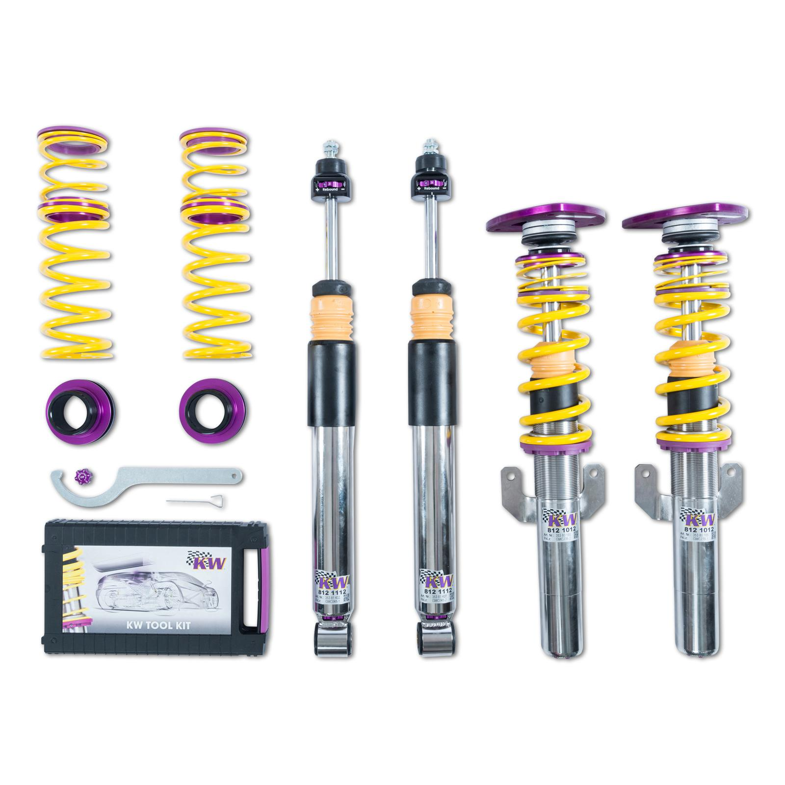 KW Suspension 3-WAY Clubsport Coilover Kit