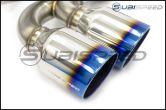 Blitz Nur Spec CTI Quad Tip Catback w/ Rear Diffuser - 2013+ FR-S / BRZ