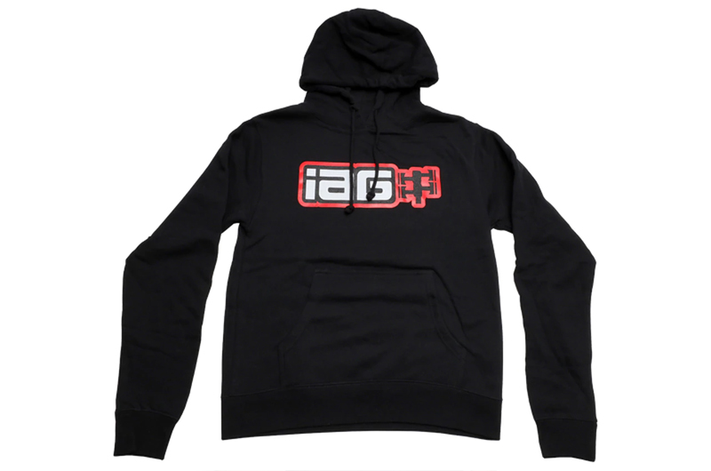 IAG Performance IAG Boxer Logo Hoodie - Black