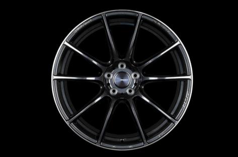 WedsSport SA-25R 18x9.5 +45 Weds Black Clear - 2013-2020 FRS / BRZ / 86