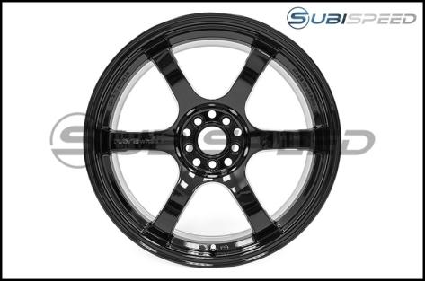 Gram Lights 57DR 18x9.5 +38mm Glossy Black - 2013+ FR-S / BRZ / 86 / 2014+ Forester