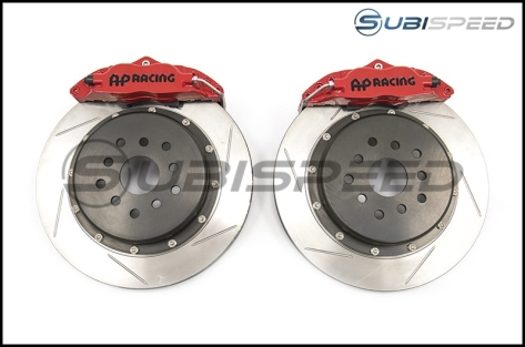 AP Racing Rear 4 Piston RT Big Brake Kit by Stillen - 2015+ WRX / 2015+ STI