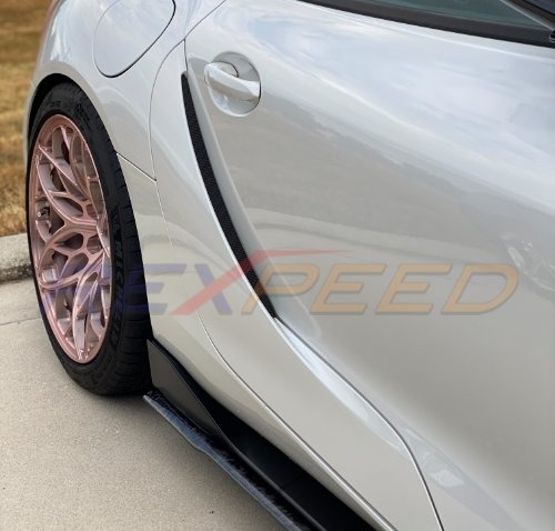 Rexpeed V2 Forged Carbon Side Skirt Extension