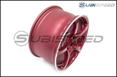 Rays G50 Hyper Red (Face 2) 18x9.5 +38 - 2015+ WRX / STI