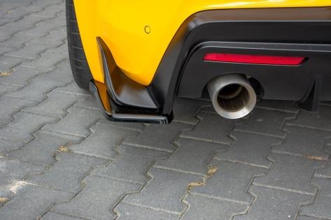 Maxton Design V1 Gloss Black Rear Spats - 2020+ A90 Supra
