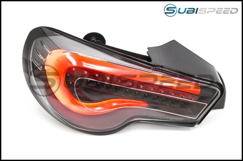 OLM VL Style / Helix Sequential Clear Lens Tail Lights (FT86SF Edition)