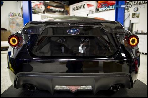 Intec Carbon Fiber Tail Light with Clear Lens - 2013+ FR-S / BRZ / 86
