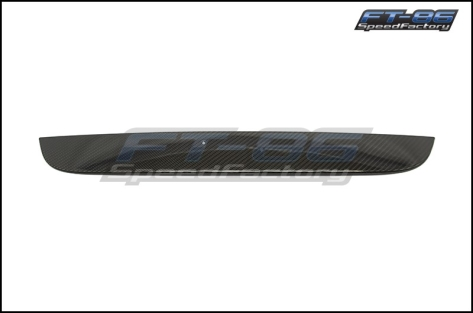 OLM Dry Carbon Fiber Trunk Garnish - 2013-2016 FR-S / BRZ