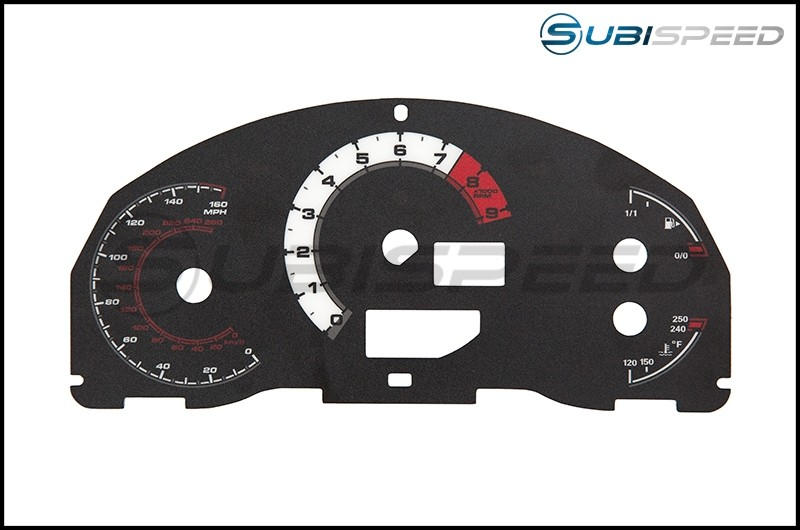 Magna Instruments Type LC Gauge Cluster Face Imperial