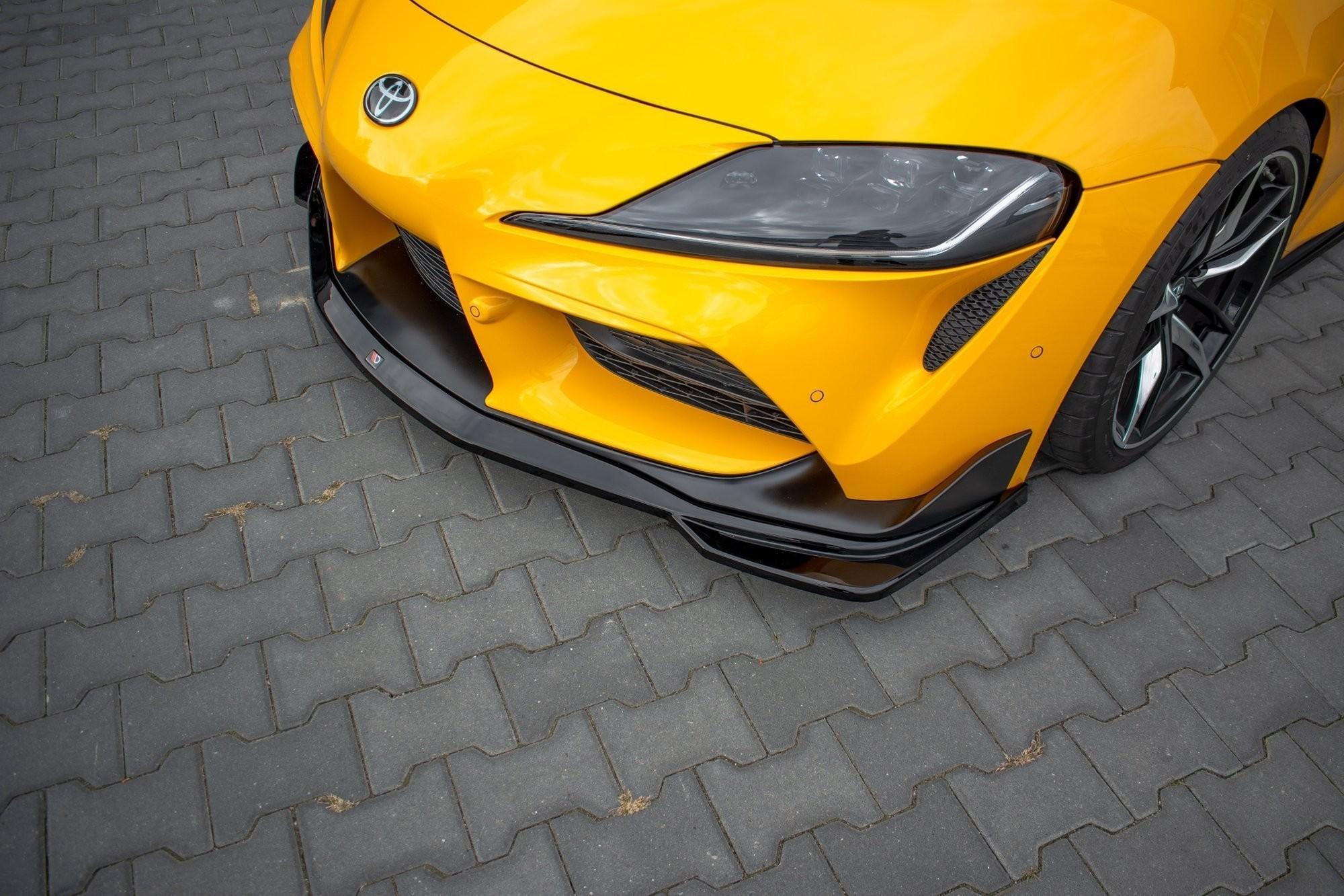 Maxton Design V1 Gloss Black Front Lip