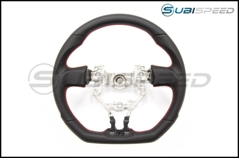 FT86 SpeedFactory Leather with Red Stitching Steering Wheel